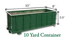 10 Yard Container