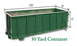 30 Yard Containers