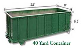 40 Yard Containers